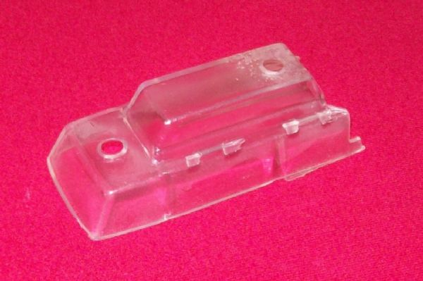 CORGI TOYS 420 Thames caravan clear plastic window unit [ Each ]
